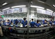 生产线操作工和安全膜贴膜施工技师